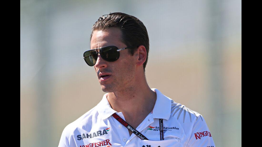 Adrian Sutil - Force India - Formel 1 - GP Japan - Suzuka - 10. Oktober 2013