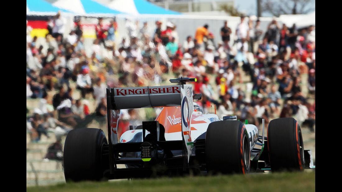 Adrian Sutil - Force India - Formel 1 - GP Japan - Suzuka - 11. Oktober 2013