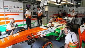 Adrian Sutil - Force India - Formel 1 - GP Malaysia - 22. März 2013