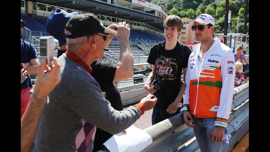 Adrian Sutil - Force India - Formel 1 - GP Monaco - 22. Mai 2013