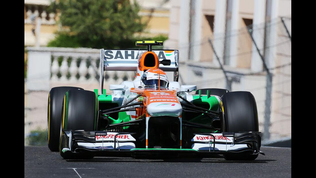 Adrian Sutil - Force India - Formel 1 - GP Monaco - 23. Mai 2013