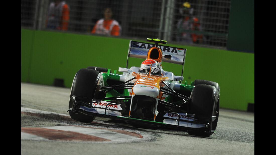Adrian Sutil - Force India - Formel 1 - GP Singapur - 20. September 2013