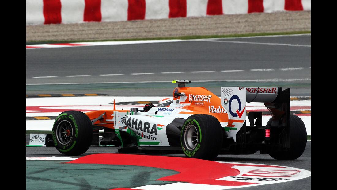 Adrian Sutil - Force India - Formel 1 - GP Spanien - 10. Mai 2013