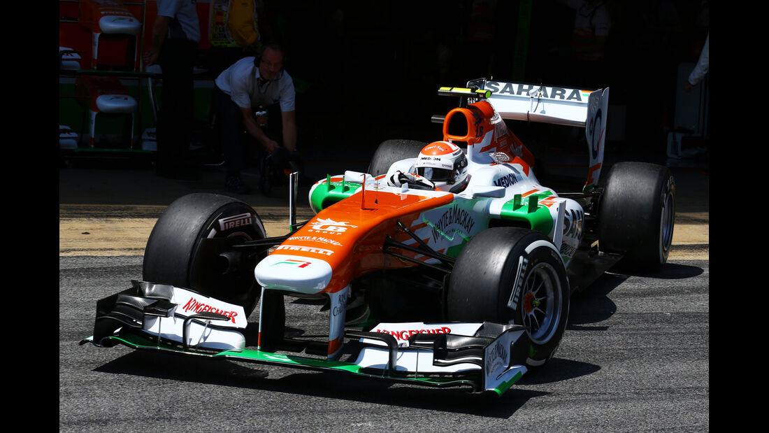 Adrian Sutil - Force India - Formel 1 - GP Spanien - 11. Mai 2013