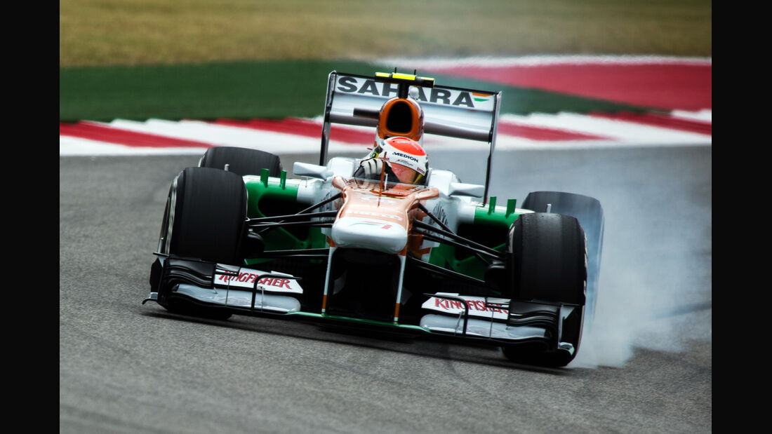 Adrian Sutil - Force India - Formel 1 - GP USA - 16. November 2013