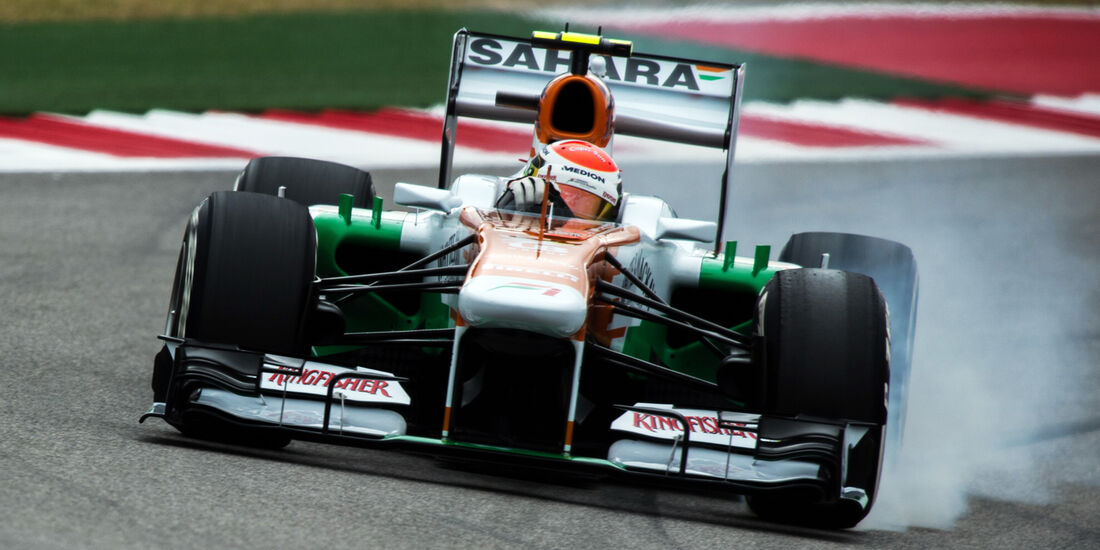 Adrian Sutil - Force India - Formel 1 - GP USA - 16. November 2013