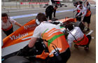 Adrian Sutil - Force India - Formel 1 - Test - Barcelona - 21. Februar 2013