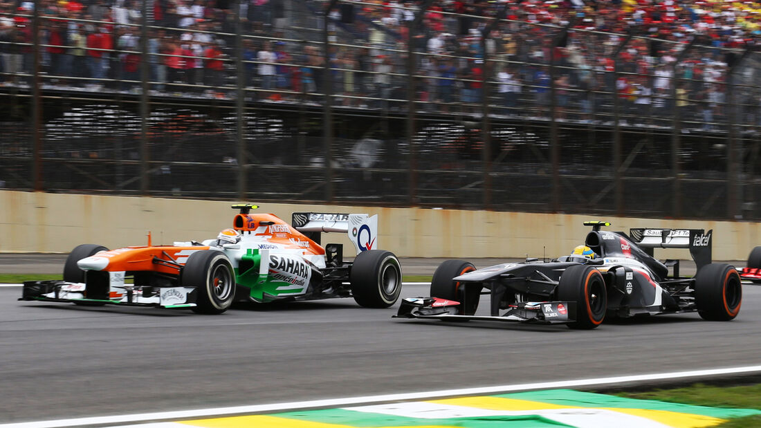 Adrian Sutil - Force India - GP Brasilien 2013
