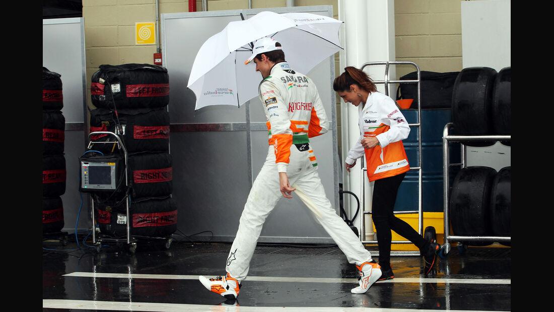 Adrian Sutil - Force India - GP Brasilien - 23. November 2013
