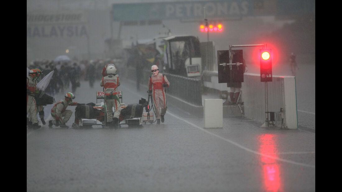 Adrian Sutil - Force India - GP Malaysia 2009