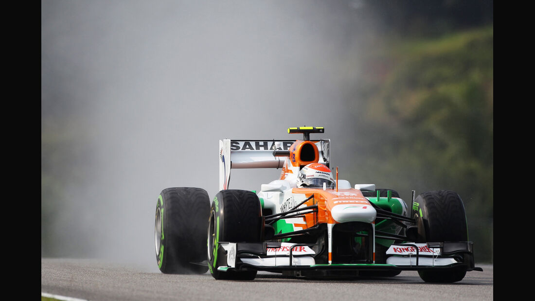 Adrian Sutil - Force India - GP Malaysia - 23. März 2013