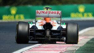 Adrian Sutil Force India GP Ungarn 2013