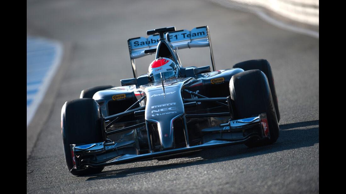 Adrian Sutil - Force India - Jerez-Test - F1 2014
