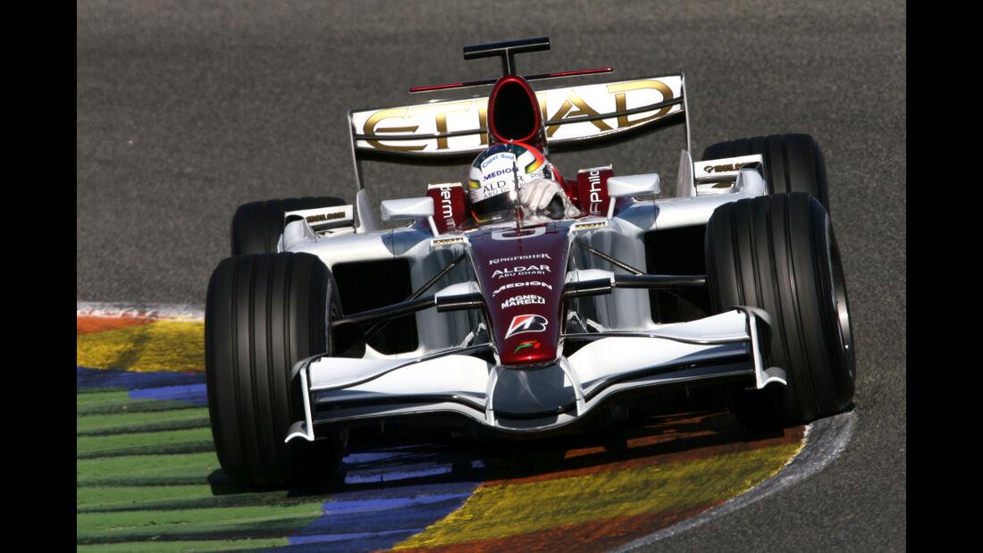 Adrian Sutil - Force India - Test - Valencia - 2008