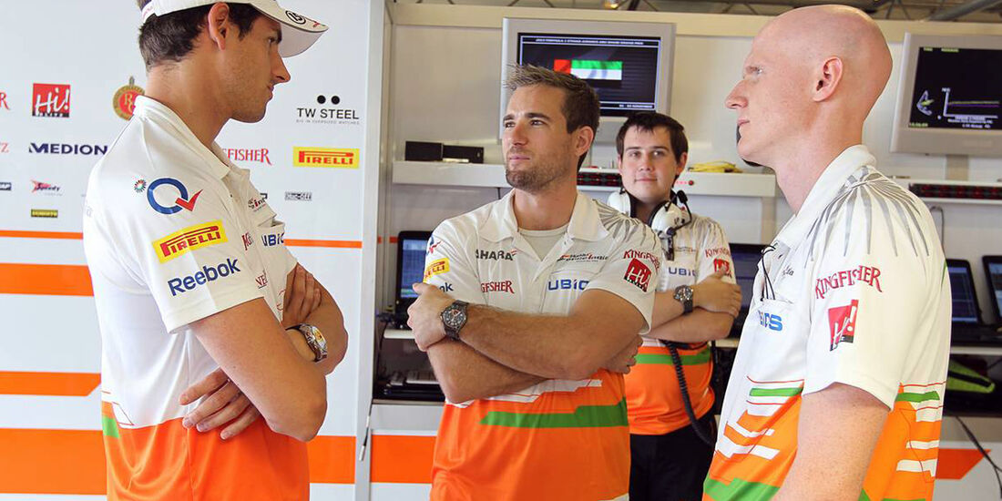 Adrian Sutil  - Formel 1 - GP Abu Dhabi - 01. November 2013