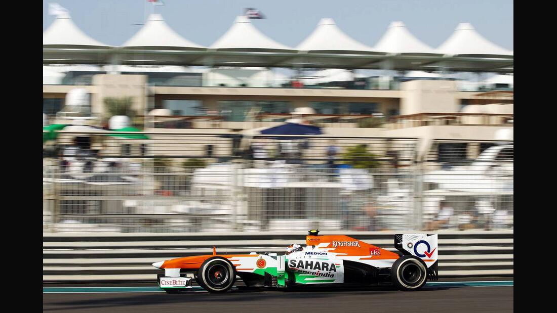 Adrian Sutil - Formel 1 - GP Abu Dhabi - 02. November 2013