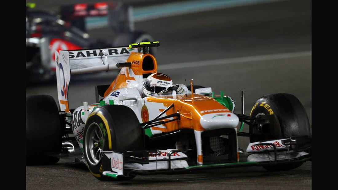 Adrian Sutil - Formel 1 - GP Abu Dhabi - 03. November 2013