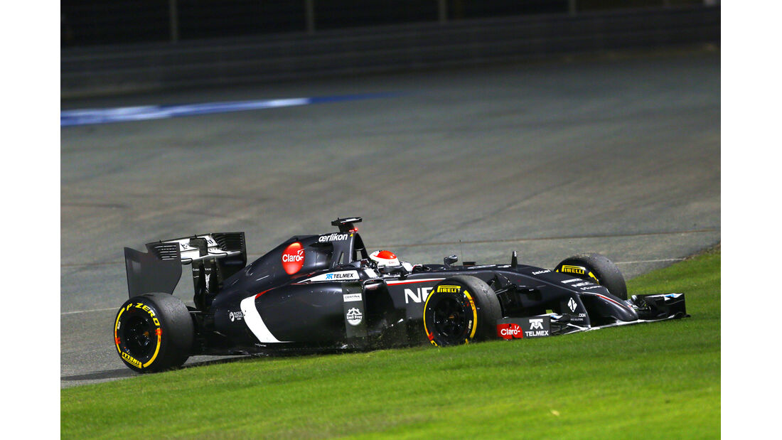 Adrian Sutil - Formel 1 - GP Bahrain 2014