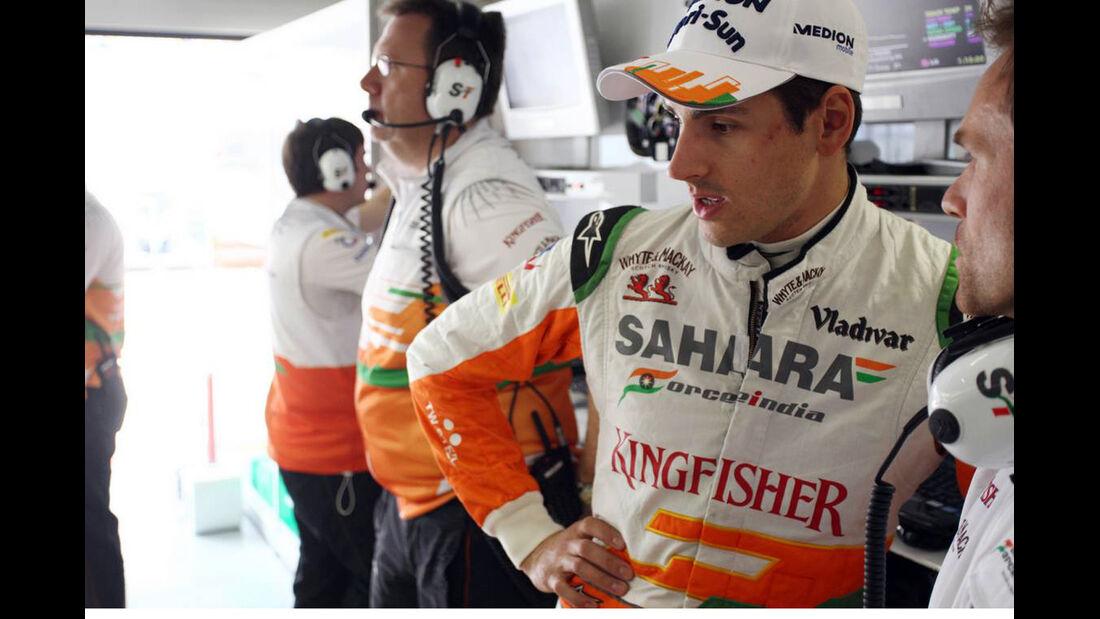 Adrian Sutil - Formel 1 - GP China - 12. April 2013