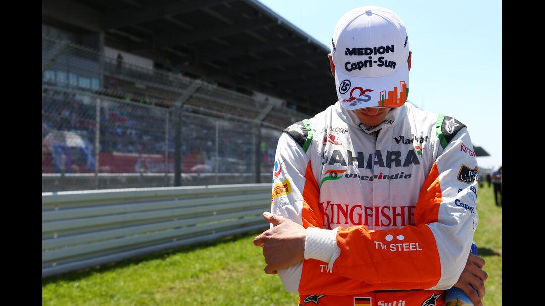 Adrian Sutil - Formel 1 - GP Deutschland 2013