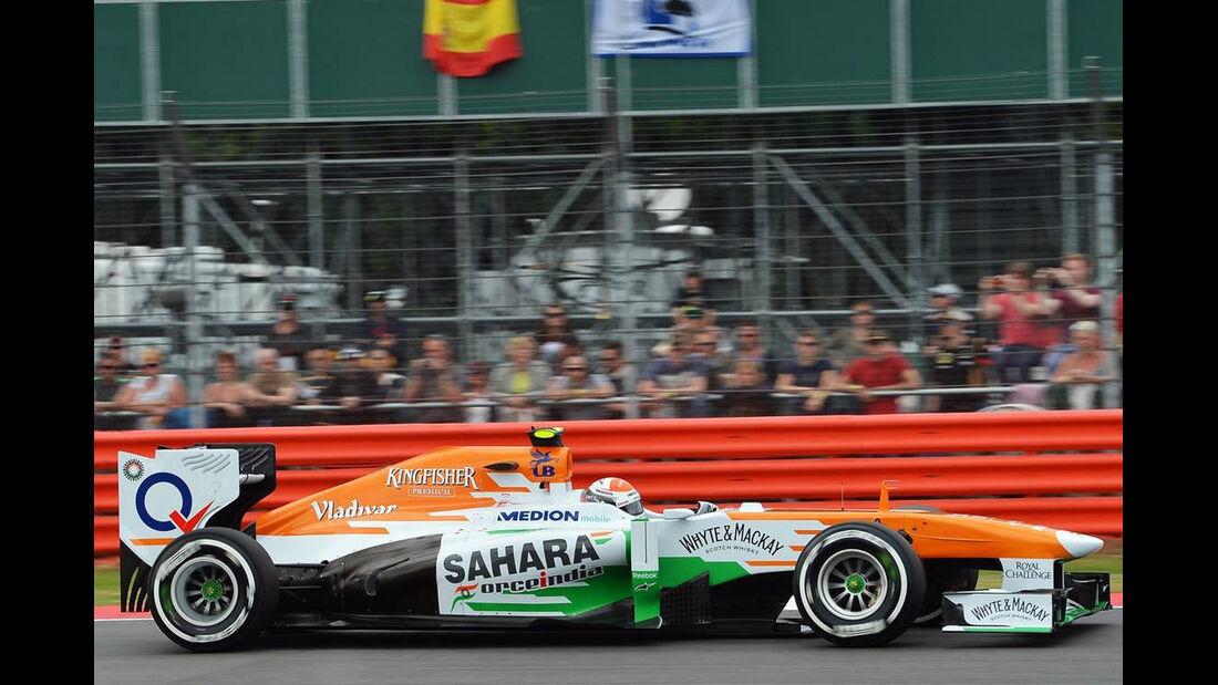 Adrian Sutil - Formel 1 - GP England - 29. Juni 2013