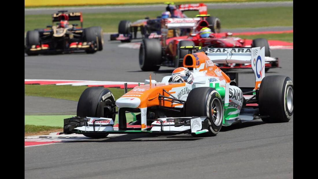 Adrian Sutil  - Formel 1 - GP England - 30. Juni 2013