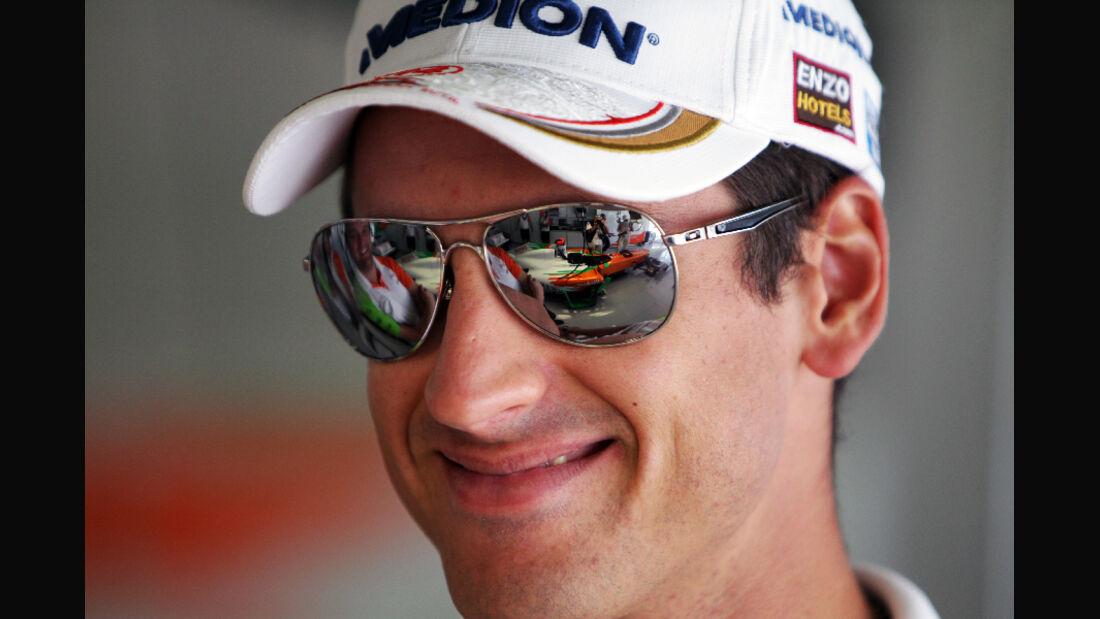 Adrian Sutil  - Formel 1 - GP Japan - 07. Oktober 2011