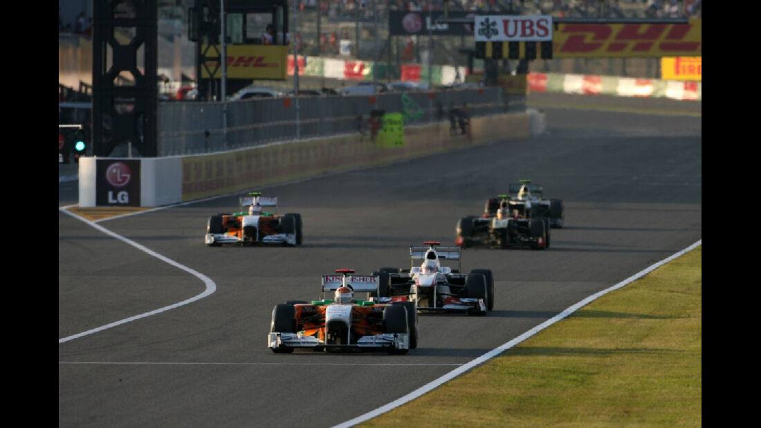 Adrian Sutil  - Formel 1 - GP Japan - 9. Oktober 2011