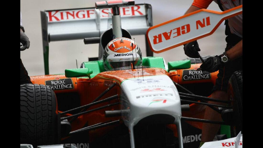 Adrian Sutil - Formel 1 - GP Korea - 14. Oktober 2011