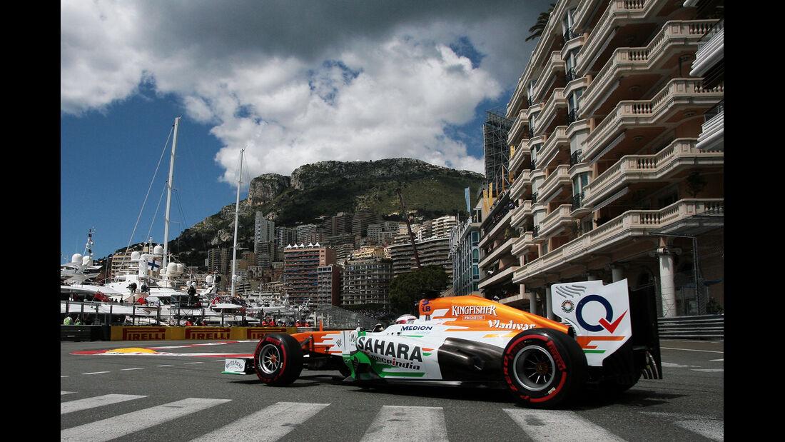 Adrian Sutil - Formel 1 - GP Monaco - 25. Mai 2013