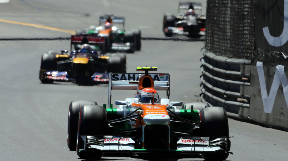 Adrian Sutil - Formel 1 - GP Monaco - 26. Mai 2013