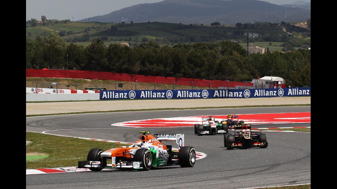 Adrian Sutil - Formel 1 - GP Spanien 2013