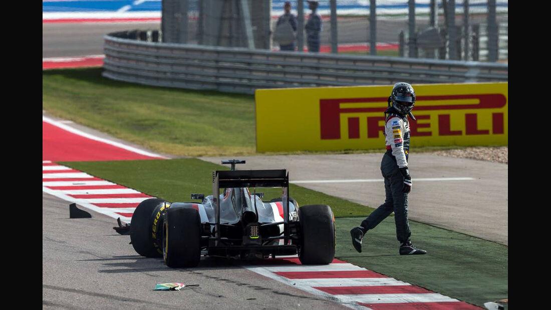 Adrian Sutil - Formel 1 - GP USA - 2. November 2014