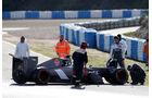 Adrian Sutil - Formel 1 - Jerez-Test 2014