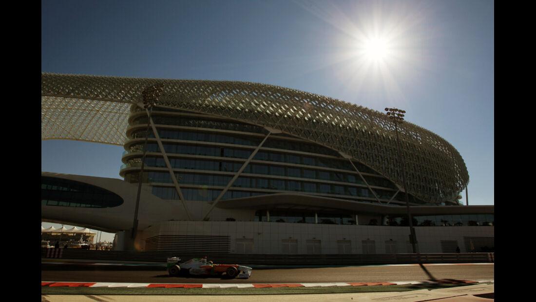 Adrian Sutil - GP Abu Dhabi - Freies Training - 11. November 2011
