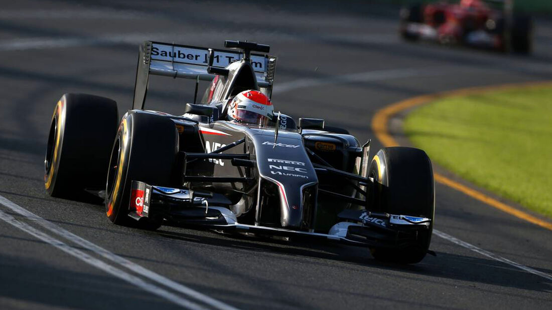 Adrian Sutil GP Australien 2014 Sauber