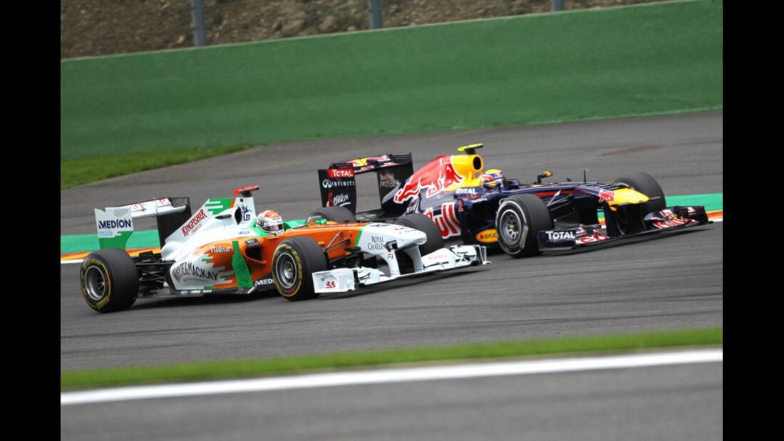 Adrian Sutil GP Belgien 2011