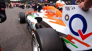 Adrian Sutil GP Belgien 2013
