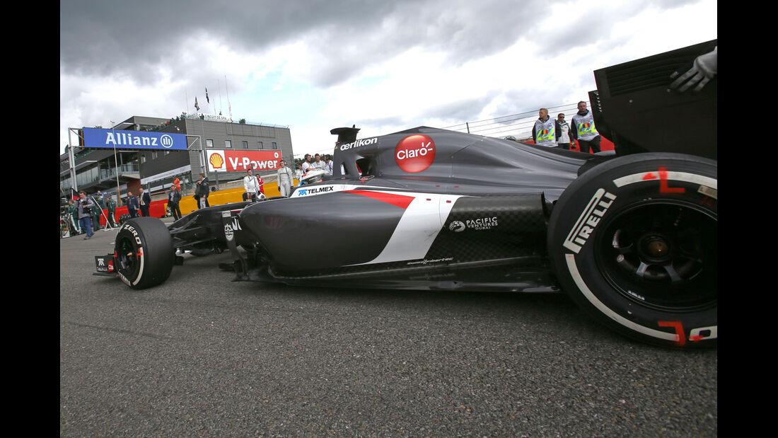 Adrian Sutil - GP Belgien 2014