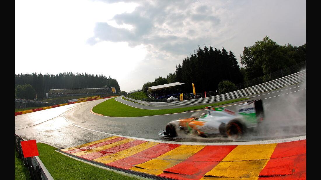 Adrian Sutil - GP Belgien - Qualifying - 27.8.2011