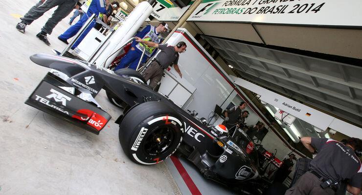 Adrian Sutil - GP Brasilien 2014