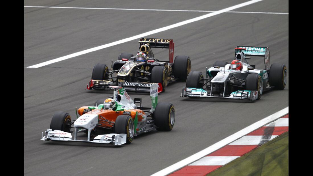 Adrian Sutil GP Deutschland 2011 Noten