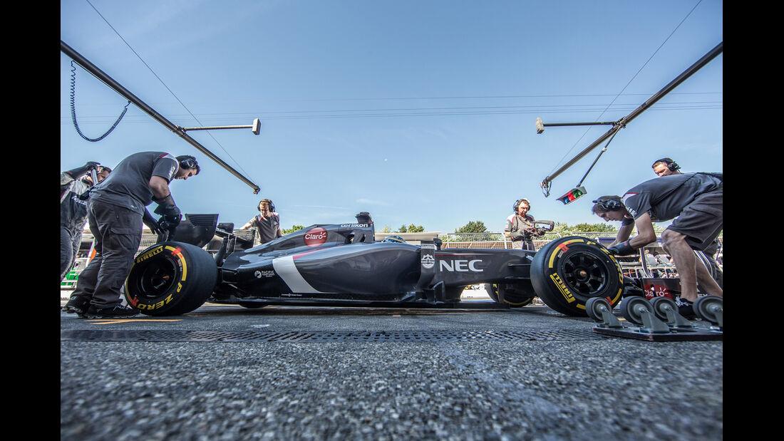 Adrian Sutil - GP Deutschland 2014 - Danis Bilderkiste