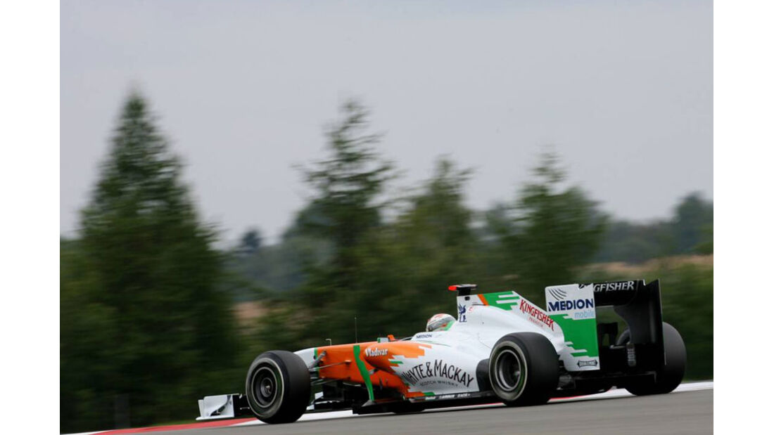 Adrian Sutil - GP Deutschland - Nürburgring - 22. Juli 2011