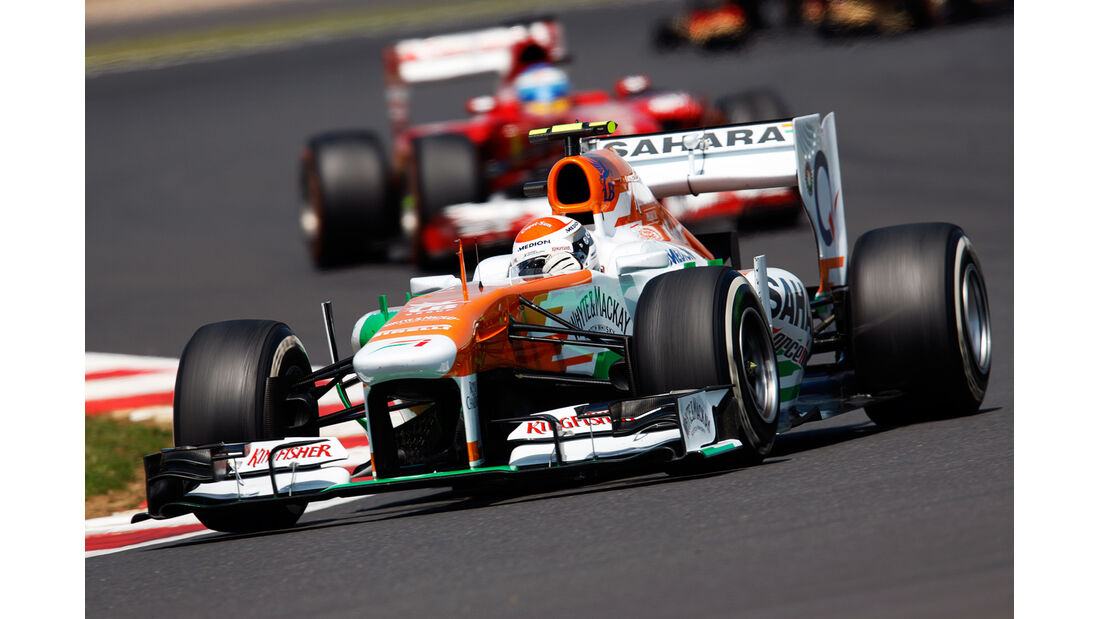 Adrian Sutil - GP England 2013
