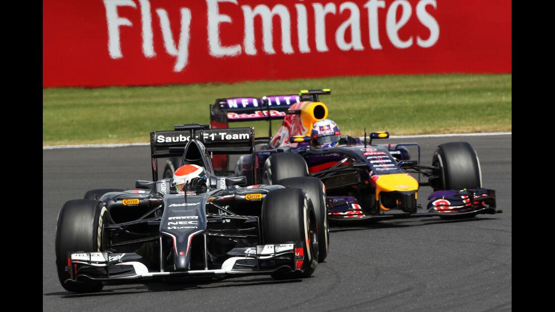 Adrian Sutil - GP England 2014