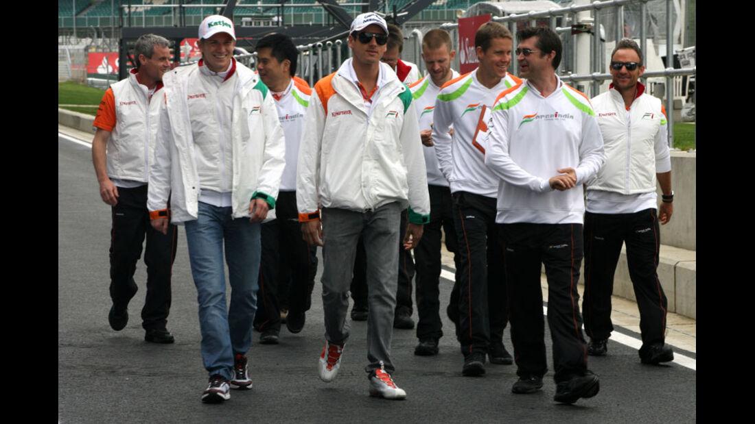 Adrian Sutil - GP England - Silverstone - Do. 7. Juli 2011