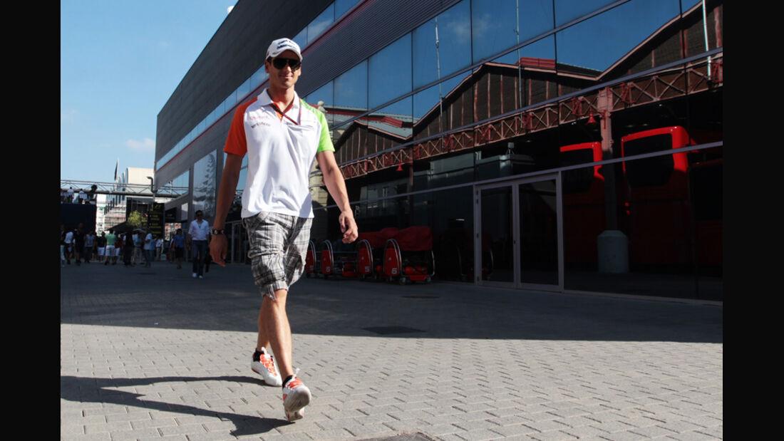 Adrian Sutil GP Europa 2011