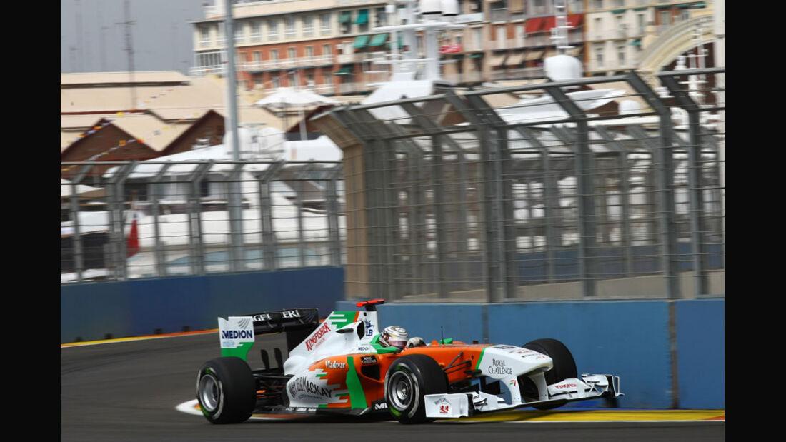 Adrian Sutil - GP Europa Valencia 2011