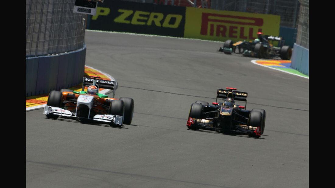 Adrian Sutil GP Europa Valencia 2011